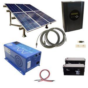 8kw off-grid solar panel system kit